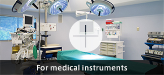For medical instruments