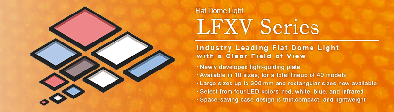 Flat Dome Light LFXV series