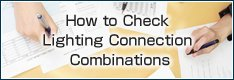 How to Check Lighting Connection Combinations