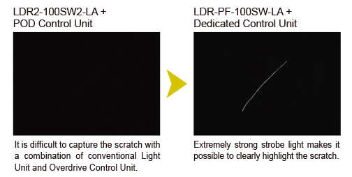 LDR2-100SW2-LA + POD Control Unit
