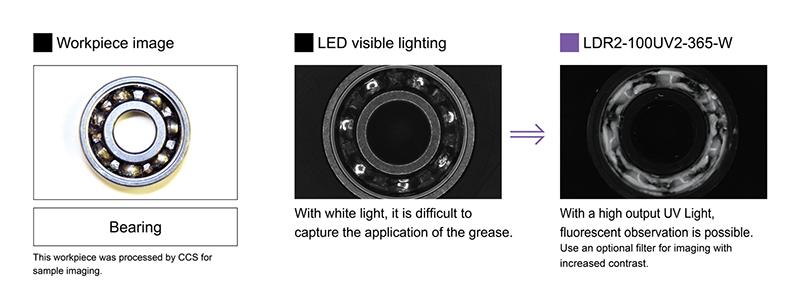 Imaging of grease application on a bearing  sc 1 st  CCS INC. & UV2 Series?CCS INC. azcodes.com