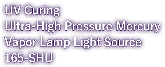 Ultra-High Pressure Mercury Vapor Lamp Light Source 165-SHU.